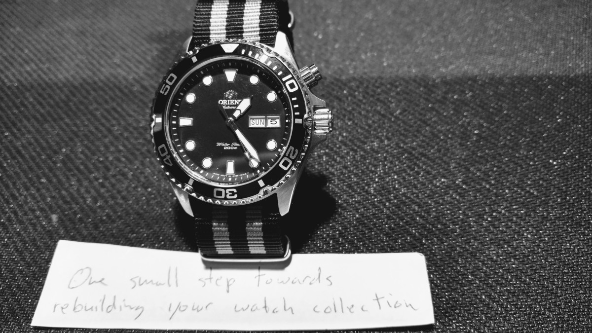 Watch Review Orient Black Ray Wristgazer